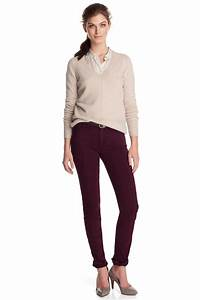 17 Best ideas about Plum Pants on Pinterest | Business casual clothes Purple dress casual and ...