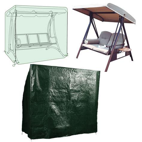 waterproof swing seat cover garden patio 2 3 seater
