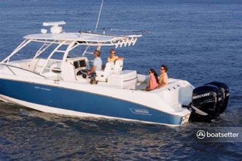 Boatsetter Insurance Policy by Rent A 2007 32 Ft Boston Whaler 320 Outrage Cuddy W 2