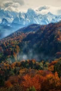 Autumn in Switzerland Alps