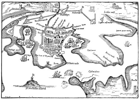 century 21 siege file plymouth siege map 1643 gif wikimedia commons