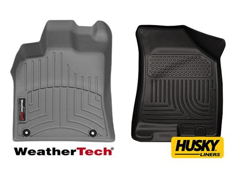 husky weatherbeater floor mats vs weathertech husky liners vs weathertech autos post