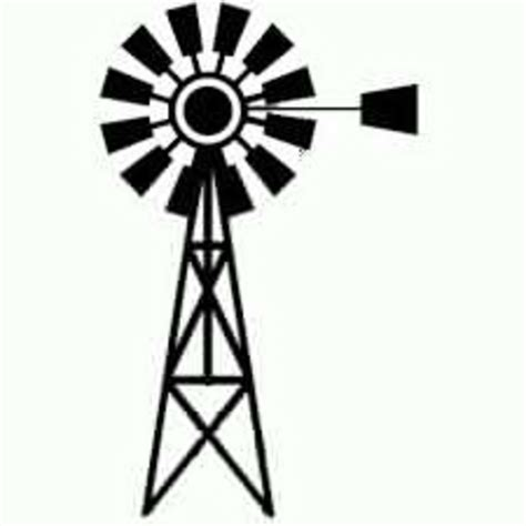 Windmill Clipart Windmill Black And White Clipart Free Images At Clker
