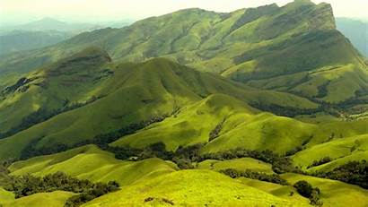 India Mountain Kudremukh Range Wallpapers Cordillera Hermosa