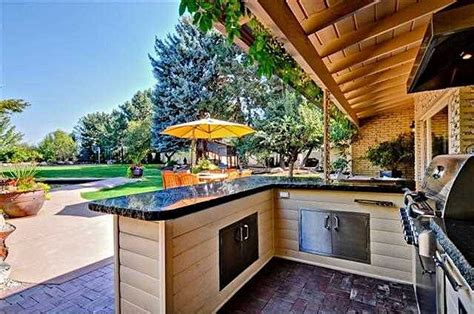 backyard outdoor kitchen great ideas for outdoor kitchens freestyle pools spas inc