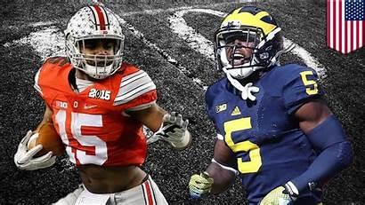 Michigan Ohio State Wolverines Buckeyes Elliott Jabrill