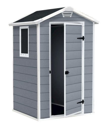 keter 174 manor 4 x 3 storage building at menards 174