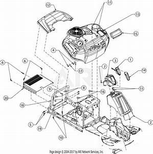 Troy Bilt 13ac21jd011 Tb30r Hydro  2017  Parts Diagram For Fender