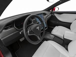 Black Tesla Model S White Interior - រូបភាពប្លុក | Images