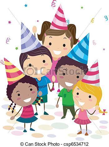 clipart compleanno bambini festa compleanno bambini su illustrazione dall