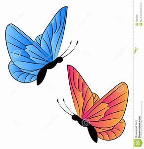 Butterflies cliparts