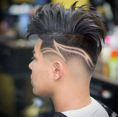 hairstyle   design fade haircut