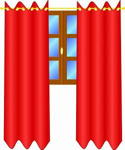 Window with draperies clip art at clkercom vector clip for Gray curtains png