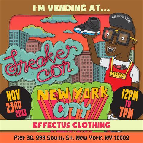 Effectus Clothing at NYC Sneakercon November 23rd 2013 ...