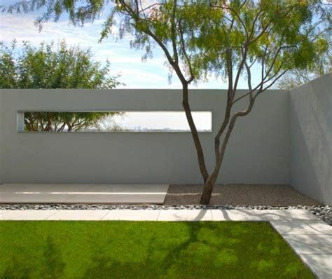 Gartenzaun Aus Beton by Moderne Gartenz 228 Une Schaffen Sichtschutz Im Au 223 Enbereich
