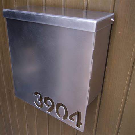 wall mount mailbox contemporary mailboxes a modern look at a simple object 4612
