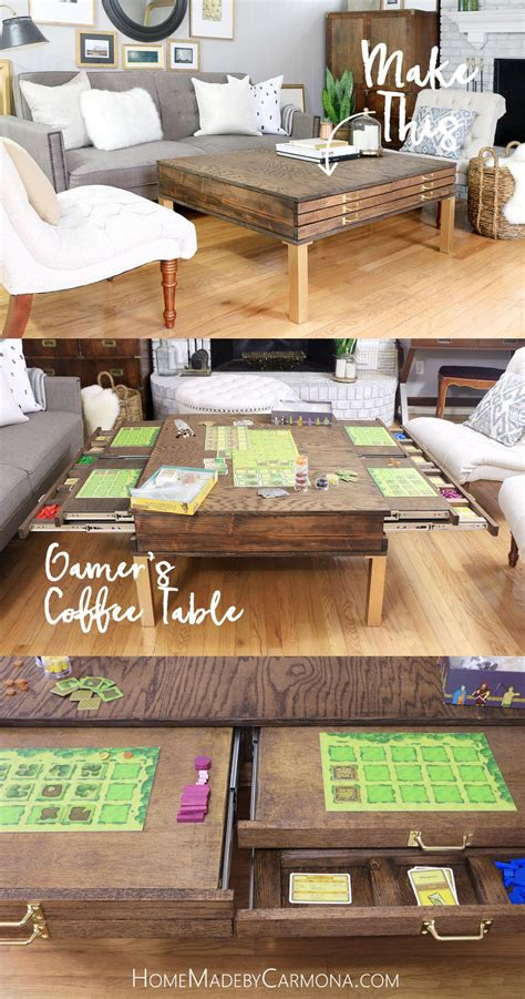 Best 25+ Gaming Table Diy Ideas On Pinterest  Board Game