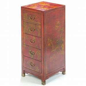 Meuble Chinois Rouge : petit meuble chinois rouge promodiscountmeubles magasin ~ Teatrodelosmanantiales.com Idées de Décoration