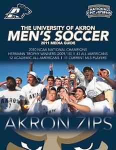 2011 University of Akron Men's Soccer Media Guide by Akron ...