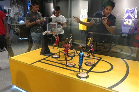 nba memorabilia basketball fans philippines open pinoy