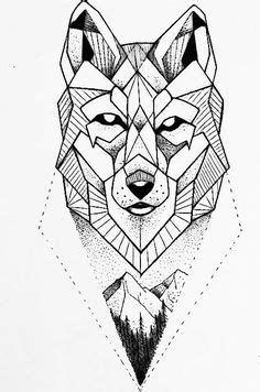Vector geometric low poly illustrations set. Lion, elephant, wolf and owl animal heads