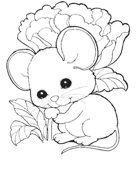 cute mouse coloring pages  kids coloring pages