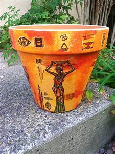 EXOTIC AFRICAN Pot /African Clay Pot / Safari by ...