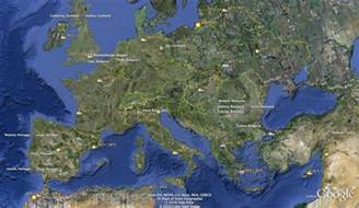 Google Earth Europe