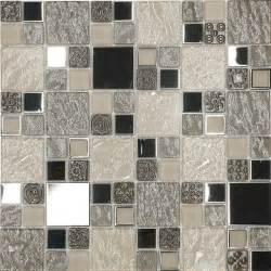 tile sheets for kitchen backsplash beige metal textured glass mosaic kitchen backsplash tile 12 quot x 12 quot sheet contemporary