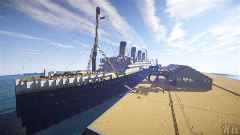 Minecraft Boat Titanic by Titanic Minecraft Wallpaper And Background Image