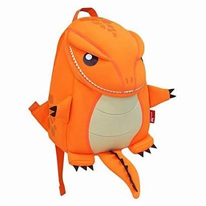 Firedrake Nohoo Zoo Cartoon Cartable Sac Arancione