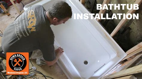 Where Can I Buy A Tub by How To Install A Bathtub Acrylic Kohler Archer Step By