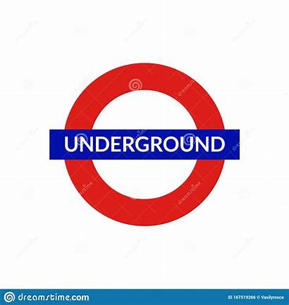 Underground London Metro Subway Symbol Tube Vk