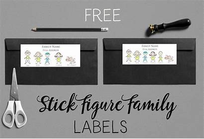 Labels Stick Figure Generator Stickers Address Create