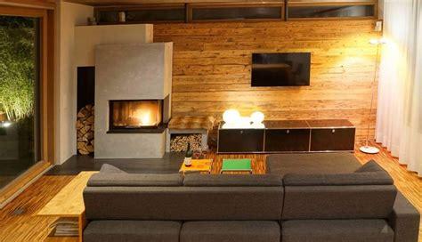 Tv Wand Holz by Tv Wand Holzverkleidung Bs Holzdesign