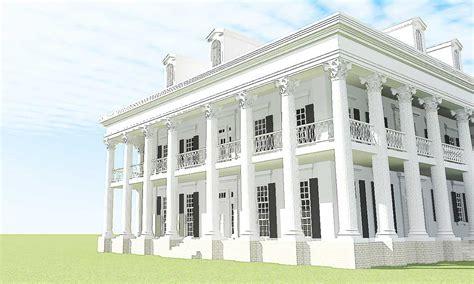 fresh greek revival house plans house plans