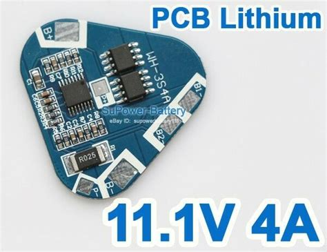 Ion Lithium Battery Protection Circuit Board Cell