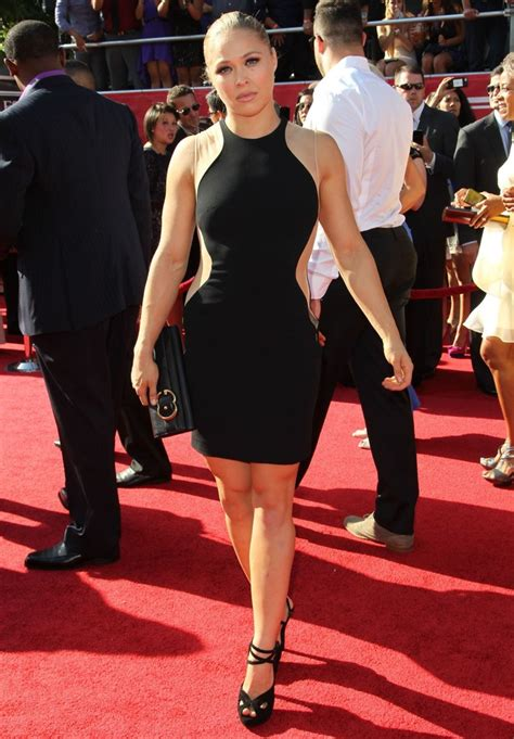 ronda rousey picture   espy awards red carpet