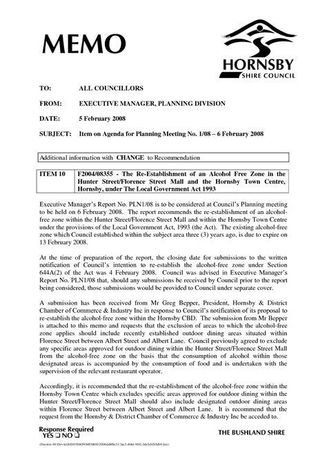 Business Memo Format Template by Business Memorandum Template Mughals
