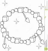 Coloring Bracelet Decorative Designlooter 1300px 1232 63kb Illustration sketch template