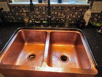 can you paint a sink prevent tarnish watermarks and patina on copper and brass