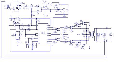 Pwm Inverter Circuit Simple Electronic