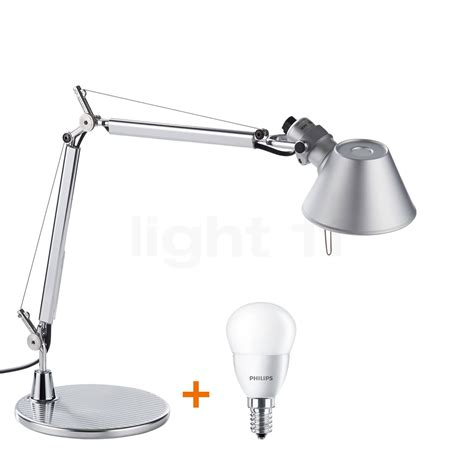 artemide tolomeo micro with base desk ls light11 eu