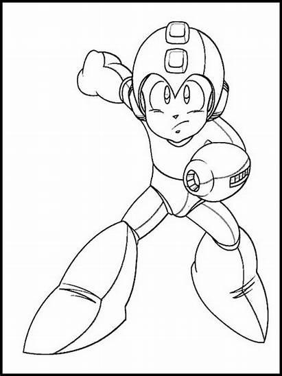 Mega Megaman Pintar Desenhos Dessin Dibujos Coloring
