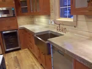 Cast in Place Concrete Countertops