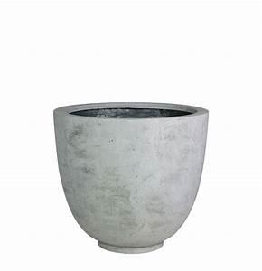 Pflanzkübel Aus Beton : pflanzk bel beton rund im greenbop online shop kaufen ~ Indierocktalk.com Haus und Dekorationen