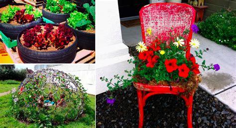 chaises de cuisine 45 façons de détourner des objets pour décorer jardin
