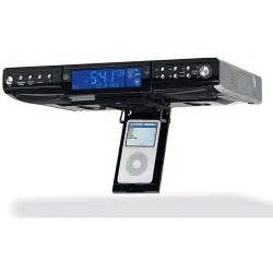 under cabinet radio cd player ipod dock ge 75400 under counter cd radio and ipod dock free
