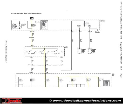 2005 Chevrolet Trailblazer Wiring Schematic by Burnt Ignition Switch Causes Trailblazer Electrical Issues