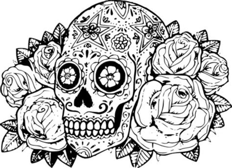 coloring pages skull candy  fairies sugar skull